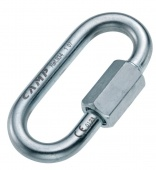 Карабин Oval Quick Link 8 mm Zinc Plated CAMP Safety