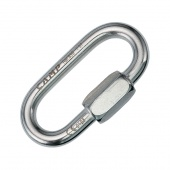 Карабин Oval Quick Link 8 mm stainless CAMP Safety