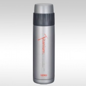 Термос титан FEB-500T Titanium Bottle 0.5 L Thermos