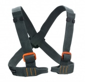 Страховочная система Vario Chest Harness Gray ONE Black Diamond