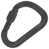 Карабин Attache Screw-Lock Black Petzl