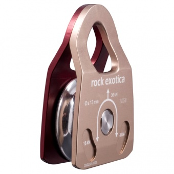 Блок Machined Rescue Pulley Rock Exotica