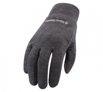 Перчатки Powerweight Liners Charcoal XL Black Diamond